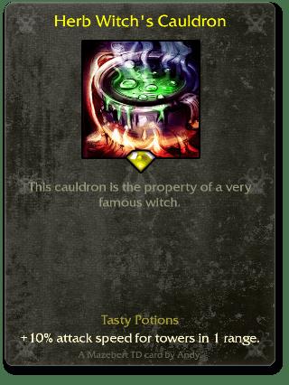 Herb Witch's Cauldron
