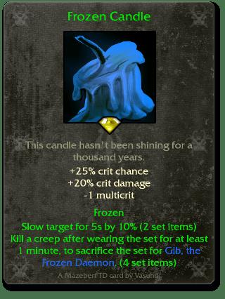 Frozen Candle