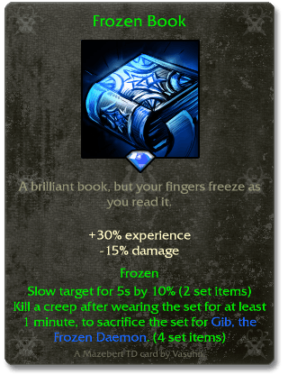 Frozen Book