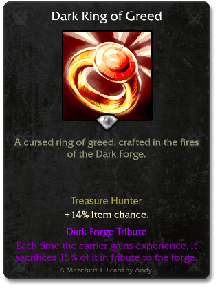 Dark Ring of Greed