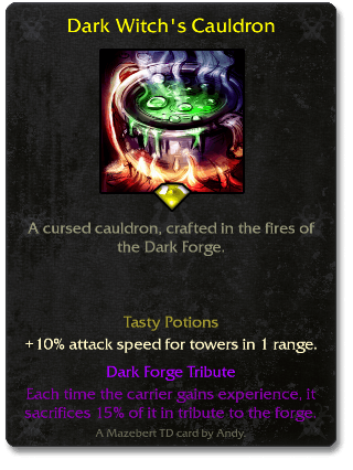 Dark Witch's Cauldron