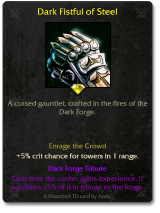 Dark Fistful of Steel