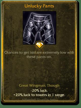 Unlucky Pants
