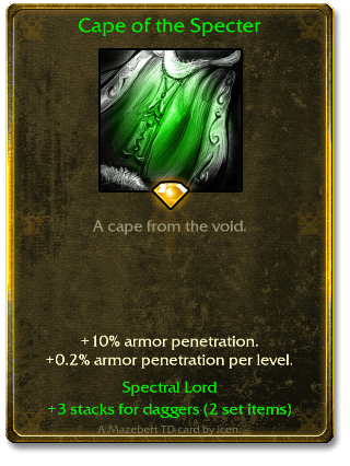 Cape of the Specter