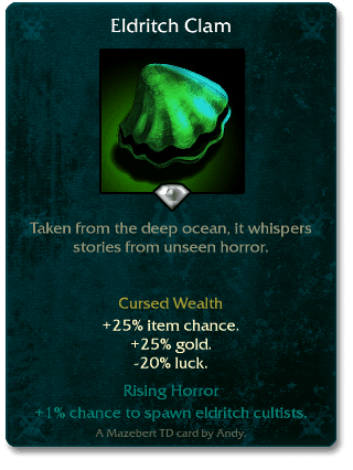 Eldritch Clam