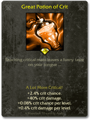 Great Potion of Crit