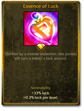 Essence of Luck