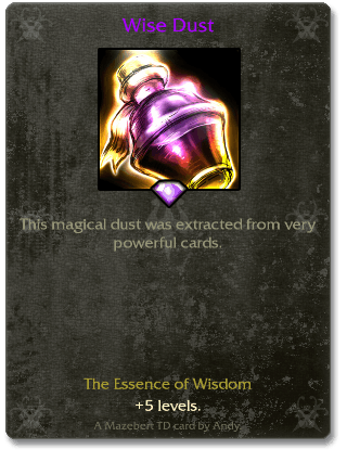 Wise Dust