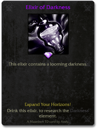 Elixir of Darkness