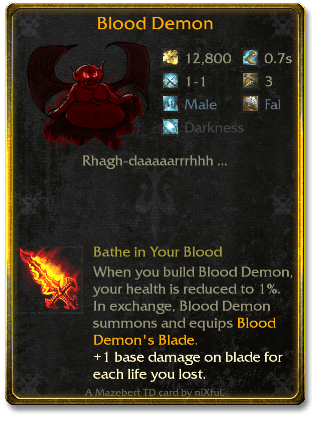 Blood Demon